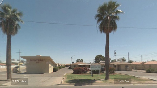 The Monterey motel still exists, according to Google Street View