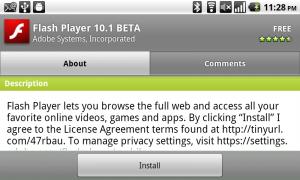 Flash 101. Beta Installer
