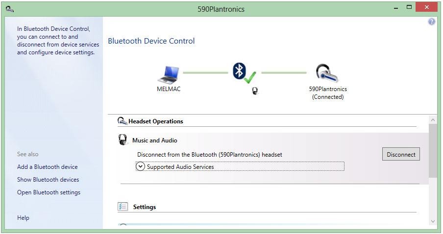 Bluetooth software windows 8