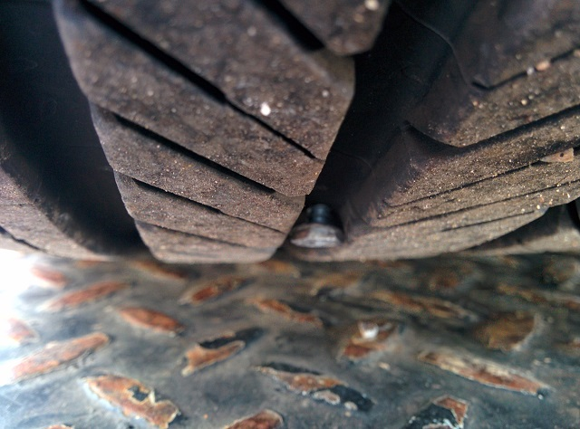 Bolt in tire